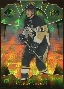 2008/09 Upper Deck SP Authentic Holoview FX Die Cuts #FX75 Sidney Crosby