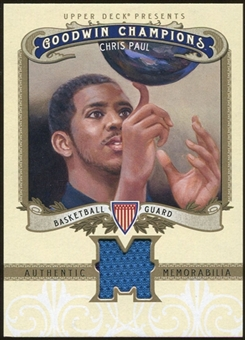 2012 Upper Deck Goodwin Champions Memorabilia #MCP Chris Paul F