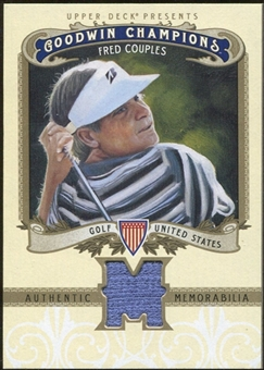 2012 Upper Deck Goodwin Champions Memorabilia #MFC Fred Couples E