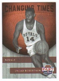 2011/12 Panini Past and Present Changing Times #2 Oscar Robertson