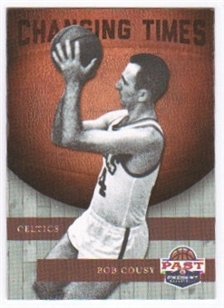 2011/12 Panini Past and Present Changing Times #5 Bob Cousy
