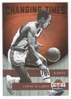 2011/12 Panini Past and Present Changing Times #6 Lenny Wilkens