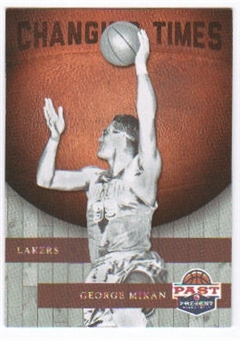 2011/12 Panini Past and Present Changing Times #8 George Mikan