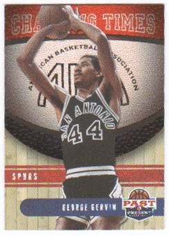 2011/12 Panini Past and Present Changing Times #11 George Gervin