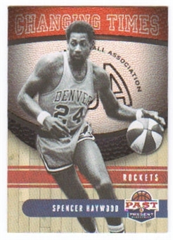 2011/12 Panini Past and Present Changing Times #15 Spencer Haywood