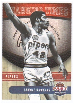 2011/12 Panini Past and Present Changing Times #16 Connie Hawkins
