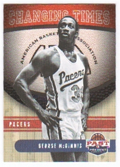 2011/12 Panini Past and Present Changing Times #19 George McGinnis