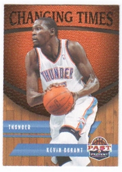 2011/12 Panini Past and Present Changing Times #23 Kevin Durant