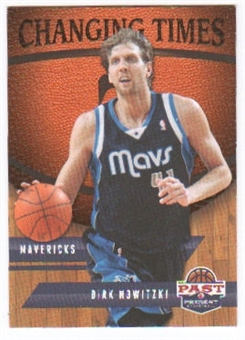 2011/12 Panini Past and Present Changing Times #26 Dirk Nowitzki