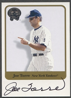 2001 Greats of the Game #86 Joe Torre Auto SP