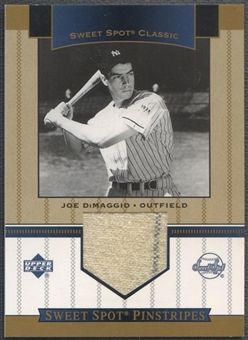 2003 Sweet Spot Classics #JD Joe DiMaggio Pinstripes Jersey SP