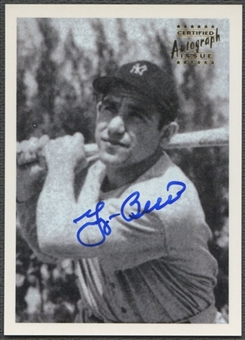 1999 Topps Stars #3 Yogi Berra Rookie Reprints Auto