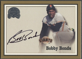 2000 Greats of the Game #8 Bobby Bonds Auto