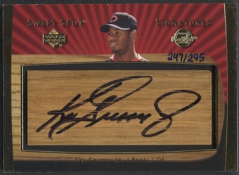 2003 Sweet Spot #KG Ken Griffey Jr. Signatures Bat Barrel Auto #247/295