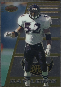 1996 Bowman's Best #164 Ray Lewis Rookie