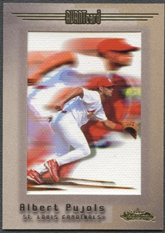 2001 Fleer Showcase #121 Albert Pujols Rookie #036/500