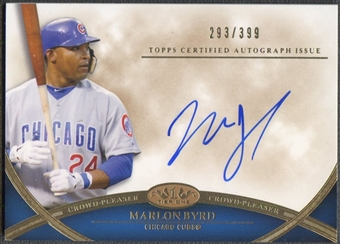 2012 Topps Tier One #MBY Marlon Byrd Crowd Pleaser Auto #293/399