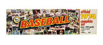 1974 Topps Baseball Factory Sealed Set