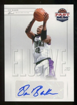 2011/12 Panini Past and Present Elusive Ink Autographs #VB Vin Baker Autograph
