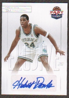 2011/12 Panini Past and Present Elusive Ink Autographs #HD Hubert Davis Autograph