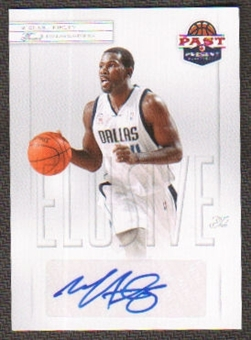 2011/12 Panini Past and Present Elusive Ink Autographs #MF Michael Finley Autograph