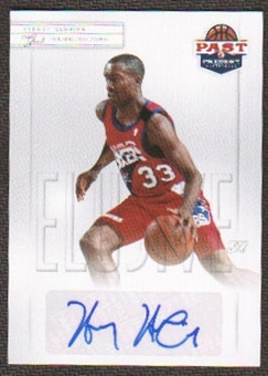 2011/12 Past and Present Elusive Ink Autographs #HH Hersey Hawkins Autograph