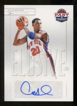 2011/12 Past and Present Elusive Ink Autographs #AH Allan Houston Autograph