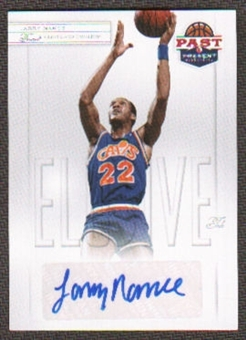 2011/12 Panini Past and Present Elusive Ink Autographs #LN Larry Nance Autograph