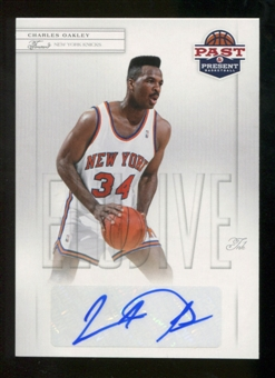 2011/12 Past and Present Elusive Ink Autographs #CO Charles Oakley Autograph