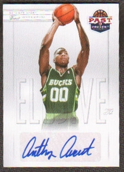 2011/12 Panini Past and Present Elusive Ink Autographs #AA Anthony Avent Autograph