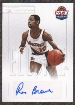 2011/12 Panini Past and Present Elusive Ink Autographs #RB Ron Brewer Autograph