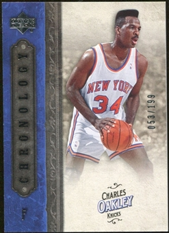 2006/07 Upper Deck Chronology #19 Charles Oakley /199