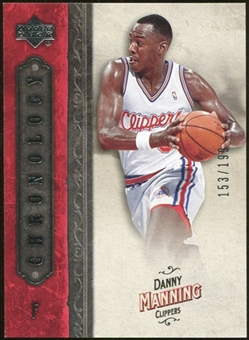 2006/07 Upper Deck Chronology #24 Danny Manning /199