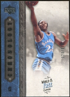 2006/07 Upper Deck Chronology #77 World B. Free /199