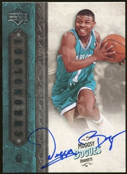 2006/07 Upper Deck Chronology Autographs #66 Muggsy Bogues Autograph
