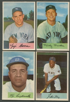 1954 Bowman Baseball Complete Set (EX-MT)
