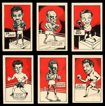1947 D. Cummings & Son Boxing Complete Set (NM-MT)