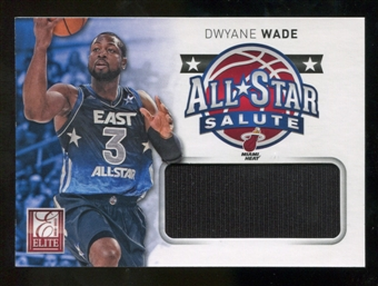 2012/13 Panini Elite All-Star Salute Materials #8 Dwyane Wade