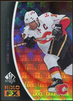 2010/11 Upper Deck SP Authentic Holoview FX #FX31 Jarome Iginla