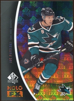 2010/11 Upper Deck SP Authentic Holoview FX #FX40 Joe Pavelski