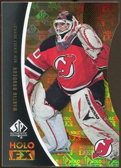 2010/11 Upper Deck SP Authentic Holoview FX Die Cuts #FX6 Martin Brodeur