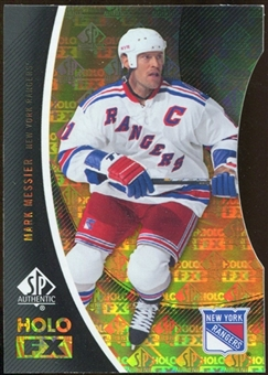 2010/11 Upper Deck SP Authentic Holoview FX Die Cuts #FX11 Mark Messier