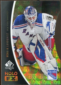 2010/11 Upper Deck SP Authentic Holoview FX Die Cuts #FX21 Henrik Lundqvist