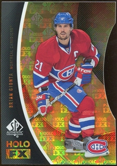 2010/11 Upper Deck SP Authentic Holoview FX Die Cuts #FX27 Brian Gionta