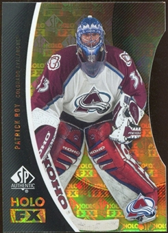 2010/11 Upper Deck SP Authentic Holoview FX Die Cuts #FX33 Patrick Roy