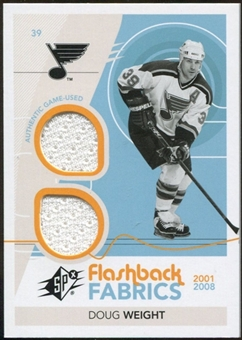 2010/11 Upper Deck SPx #210 Doug Weight FF Jersey