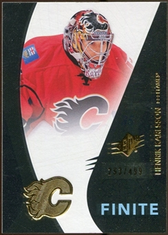 2010/11 Upper Deck SPx Finite Rookies #F17 Henrik Karlsson /499