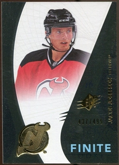 2010/11 Upper Deck SPx Finite Rookies #F2 Jacob Josefson /499
