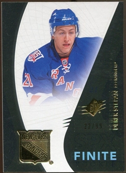 2010/11 Upper Deck SPx Finite Rookies #F25 Derek Stepan /99