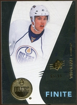 2010/11 Upper Deck SPx Finite Rookies #F30 Taylor Hall /99